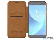 کیف چرمی نیلکین سامسونگ Nillkin Qin Leather Case Samsung Galaxy J7 2017