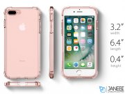 قاب محافظ اسپیگن آیفون Spigen Crystal Shell Case Apple iPhone 7 Plus