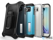 قاب محافظ اسپیگن سامسونگ Spigen Belt Clip Case Samsung Galaxy S6/S6 Edge