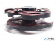 اسپینر فلزی سه پره ای طرح شوریکن 4 Fidget Spinner Metal Shuriken