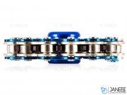 اسپینر فلزی طرح زنجیر دوچرخه 1 Fidget Spinner Metal Bike Chain