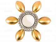 اسپینر فلزی شش پره ای طرح گل Fidget Spinner Metal Flower