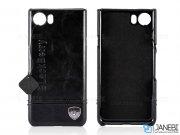 قاب محافظ چرمی بلک بری BlackBerry Keyone Dtek70/Mercury Leather Case