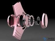 اسپینر فلزی سه پره ای آی-اسمایل i-Smile Fidget Spinner Metal