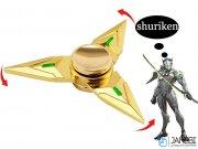 اسپینر فلزی سه پره ای طرح شوریکن 8 Fidget Spinner Metal Shuriken