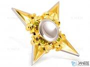 اسپینر فلزی چهار پره ای طرح شوریکن 10 Fidget Spinner Metal Shuriken