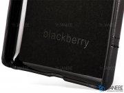 قاب محافظ چرمی بلک بری BlackBerry Passport Silver Leather Case