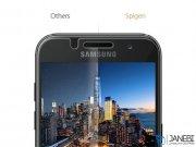 محافظ صفحه نمایش شیشه ای اسپیگن سامسونگ Spigen Screen Protector GLAS.tR Slim HD Samsung A3 2017