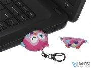 فلش مموری جغد صورتی مای دودلز My Doodles Pink Owl 8GB Flash Memory