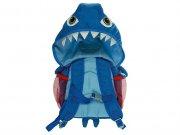 کیف کوله ای کلاه دار مای دودلز طرح کوسه My Doodles Shark BackPack Kids With Hood