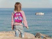 کیف کوله ای مای دودلز طرح جغد My Doodles Owl BackPack Kids