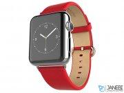بند چرمی اپل واچ هوکو طرح ساده Hoco Apple Watch Art Series Classic Real Leather Starp 42mm
