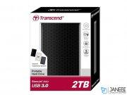 هارد اکسترنال ترنسند Transcend Storejet 25A3 USB 3.0 2TB