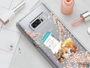 قاب محافظ اسپیگن سامسونگ Spigen Crystal Shell Blossom Case Samsung Note 8
