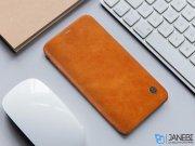کیف چرمی نیلکین آیفون Nillkin Qin Leather Case Apple iPhone X/XS