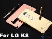 قاب محافظ آینه ای ال جی Mirror Case LG K8