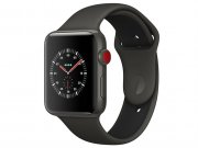 اپل واچ سری 3 مدل Apple Watch Edition 42mm GPS+Cellular Gray Ceramic Case Gray/Black Sport Band