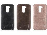 محافظ ژله ای چرمی ال جی X-Level Vintage Case LG K10