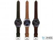 بند چرمی ساعت هوشمند سامسونگ طرح 1 Samsung Gear S3 Leather Band