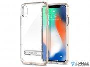 قاب محافظ اسپیگن آیفون Spigen Crystal Hybrid Case Apple iPhone X