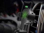 پایه نگهدارنده و شارژ بی سیم داخل خودرو راک Rock W2 Car Wireless Charging Stand