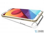 محافظ ژله ای اصلی ال جی Voia Transparent Jelly Case LG Q6