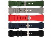 بند سیلیکونی ساعت هوشمند سامسونگ Samsung Watch Band 22mm Gear S3 Frontier 42/46mm