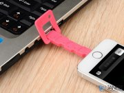 کابل شارژ و انتقال داده طرح کلید بیسوس 6/Baseus Keys Portable Mini Lightning USB Cable Apple iPhone 5/5S/5C