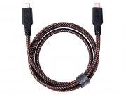 کابل شارژ سریع و انتقال داده تایپ-سی به تایپ-سی انرژیا Energea Nylotough Cable USB-C 1M