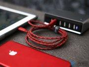 کابل شارژ سریع و انتقال داده لایتنینگ انرژیا Energea NyloXtreme Combat Cable Lightning 1.5M