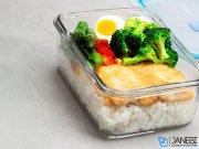 ظروف شیشه ای شیائومی Xiaomi Cooking Boiled Glass Crisper 715 +1100 ml