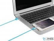 کابل شارژ و انتقال داده لایتنینگ سریع و بند جادویی مومکس Momax Elite Link Lightning Cable 1m