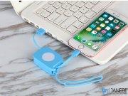 کابل شارژ و انتقال داده لایتنینگ سریع مومکس Momax Easy Link Lightning Retractable Cable 0.8m