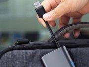 هاب یو اس بی بیسوس Baseus Enjoyment Series USB to 3 USB 3.0 Hub Adapter