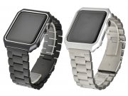 کیس و بند استیل اپل واچ Apple Watch Stainless Steel Case & Band 42mm