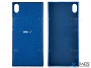 قاب محافظ طرح پارچه ای سونی Protective Cover Sony Xperia XA1 Ultra