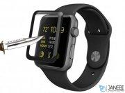 محافظ صفحه نمایش شیشه ای اپل واچ Coteetci 4D Glass Apple Watch
