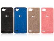 قاب محافظ طرح پارچه ای ال جی Protective Cover LG Q6