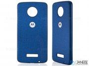 قاب محافظ طرح پارچه ای موتورولا Protective Cover Motorola Moto Z2 Play