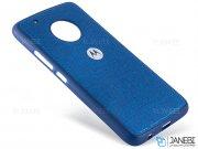 قاب محافظ طرح پارچه ای موتورولا Protective Cover Motorola Moto G5 Plus