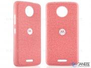 قاب محافظ طرح پارچه ای موتورولا Protective Cover Motorola Moto C