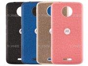 قاب محافظ طرح پارچه ای موتورولا Protective Cover Motorola Moto C Plus