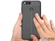 قاب ژله ای طرح چرم هواوی Auto Focus Jelly Case Huawei Honor 7X