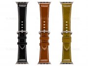 بند چرمی براق اپل واچ Apple Watch Leather Band 42mm