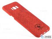 قاب محافظ چرمی پولو سامسونگ Santa Barbara Knight Case Samsung Galaxy S8 Plus