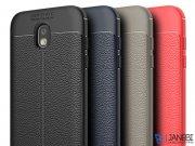 قاب ژله ای طرح چرم سامسونگ Auto Focus Jelly Case Samsung Galaxy J3 2017