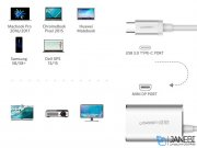 مبدل تایپ سی به مینی دیسپلی یوگرین Ugreen CM115 USB Type C To Mini Display Converter