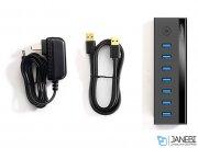هاب یو اس بی 7 پورت یوگرین Ugreen US219 7 Ports 3.0 USB HUB Power Adapter