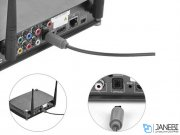 کابل انتقال صدا نوری یوگرین Ugreen AV122 10769 Toslink Optical Audio Cable 1.5M