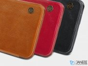 کیف چرمی نیلکین وان پلاس Nillkin Qin Leather Case OnePlus 5T